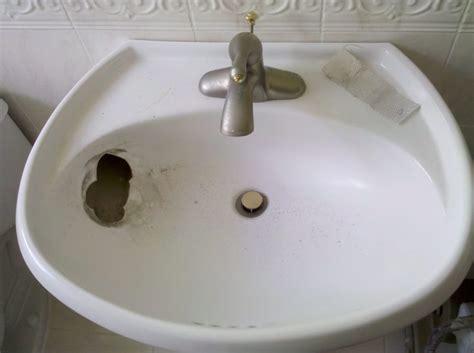 Kitchen Sink Broken by Broken Pedestal Sink Yelp