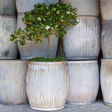 Large Garden Planters And Pots by Vintage Zinc Barrel Quot Gardening Quot Quot Get Growing