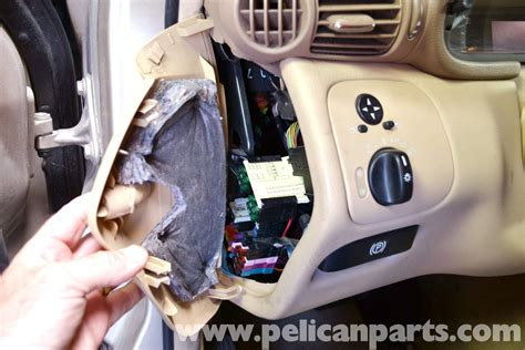 mercedes benz  light switch replacement