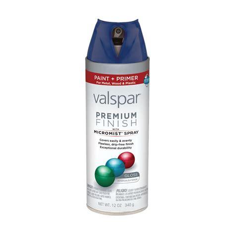 shop valspar 12 oz royal blue gloss spray paint at lowes