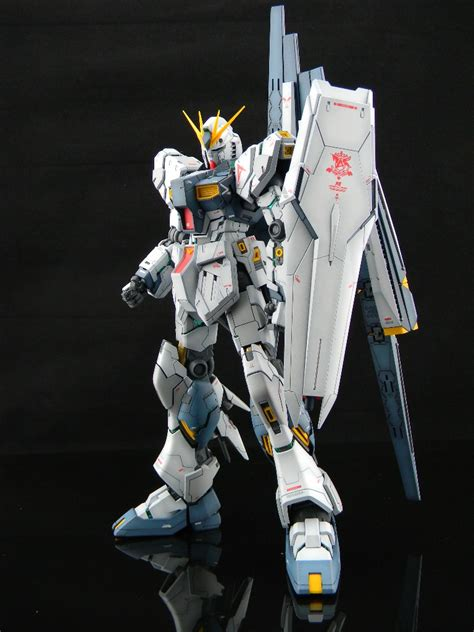 wallpaper nu gundam mg 1 100 nu gundam ver ka modeled by chchek full