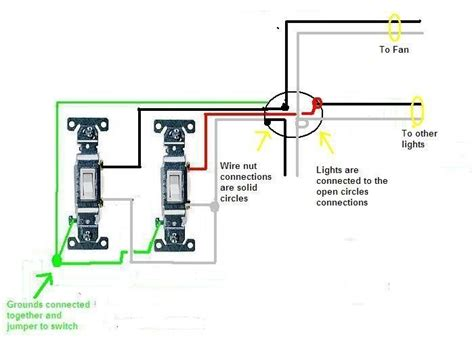 wall switch wiring diagram fuse box and wiring