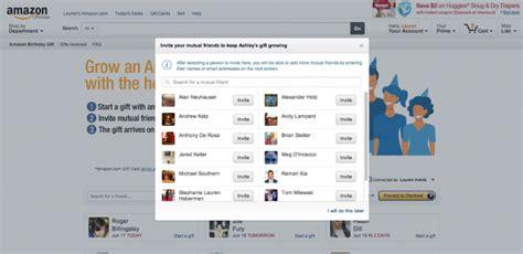 Send A Gift Card Through Facebook - you can now send amazon group gift cards via facebook