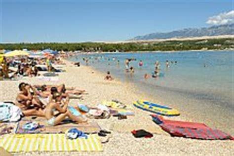 appartamenti spiaggia zrce novalja isola di pag le spiagge di novalja cosa