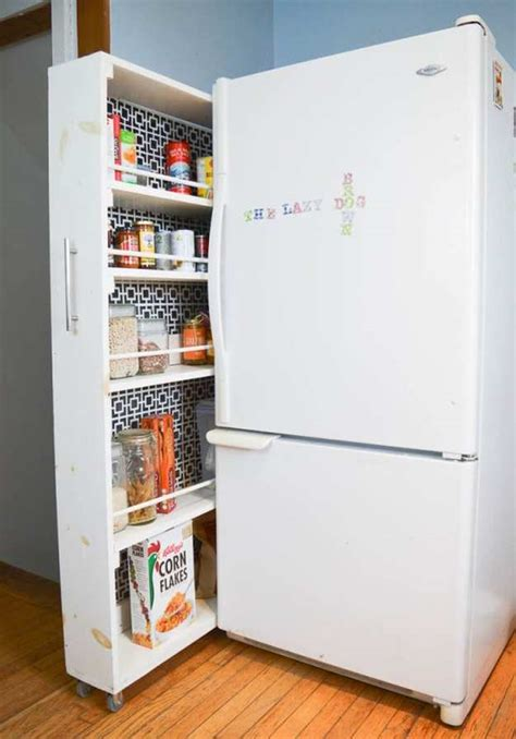 mini fridge disguised file cabinet small space storage ideas diy projects craft ideas how