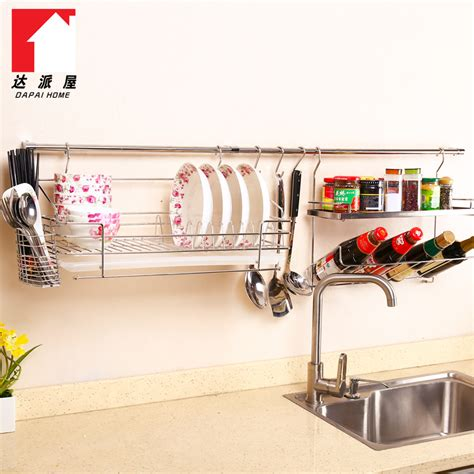 Rak Piring Stainless Stainless Steel Wall Shelving Kitchen 187 Home Design 2017