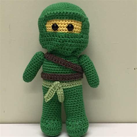 ninjago pattern becoming me by crocheting original design ninjago