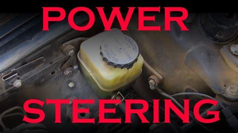 electric power steering 1998 toyota rav4 parking system toyota power steering fluid change youtube