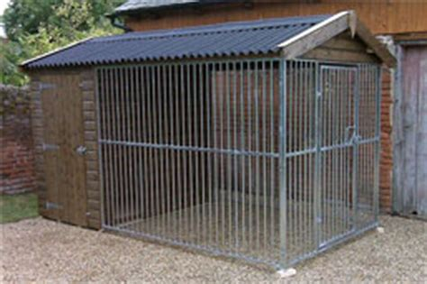 Galvanised Kennel Sections by Kennels Fj Lucas