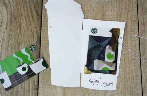 How To Fold Starbucks Gift Card Holder - free printables cute cut out gift card holders gcg