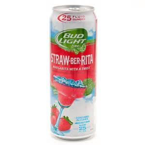bud light straw ber bud light lime straw ber margarita 25oz wine