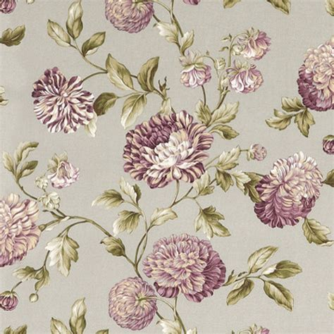 catana floral lavender fabric traditional fabric by