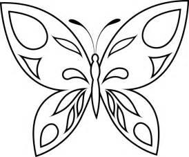 Un Papillon Facile A Colorier Imprimer L Telecharger L L L