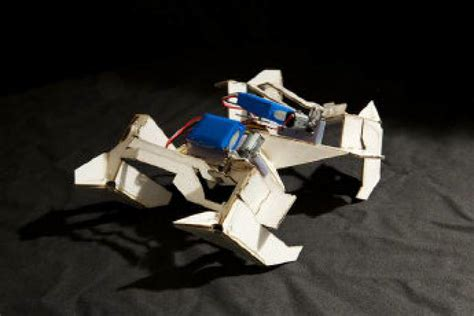 Robot Origami - the next generation origami robots that fold up and crawl