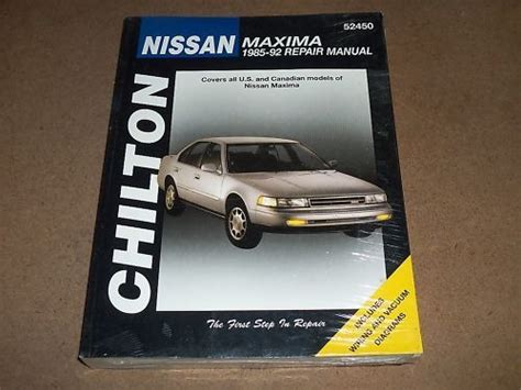 chilton car manuals free download 2010 toyota highlander lane departure warning nissan maxima 1993 thru 2004 haynes repair manuals upcomingcarshq com