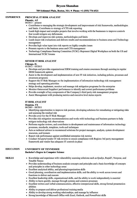 enterprise risk management resume 3rd define services