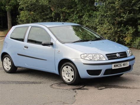 fiat punto 2006 for sale used fiat punto 2006 blue paint petrol for sale in epsom