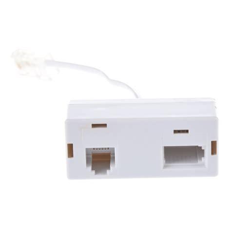 converter rj45 to rj11 rj45 plug to bt rj11 secondary splitter telephone adapter