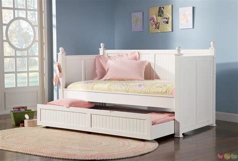 Daybed With Pull Out Bed White Daybed With Pull Out Trundle Bed