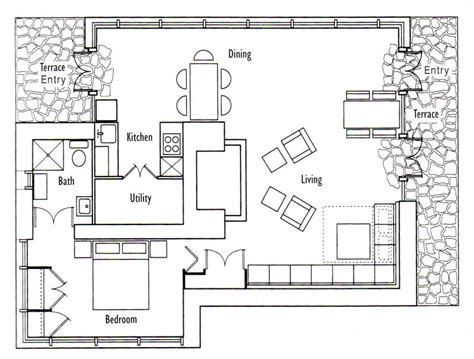 floor plans for small cottages frank lloyd wright s seth peterson cottage floor plan
