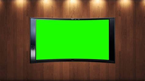 tv background tv news studio background in green screen free stock