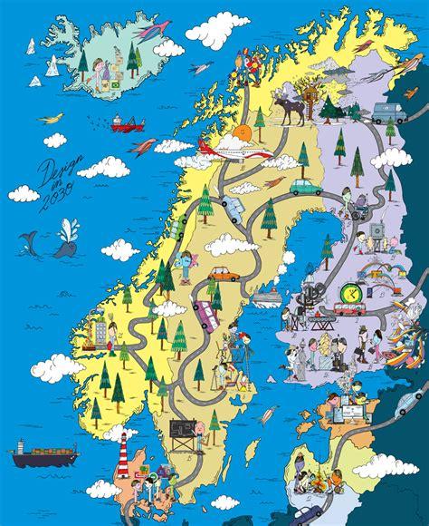 scandinavia map demos helsinki merijn hos