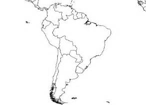 south america map no labels appletree