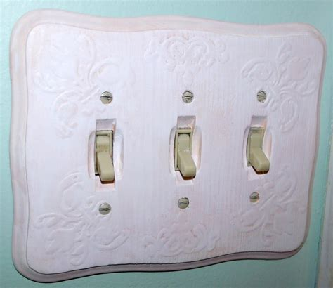 craftsman light switch plates make a vintage inspired light switch plate 187 dollar store