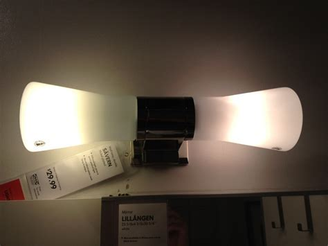 IKEA bathroom light   Bathrooms   Pinterest   Bathroom