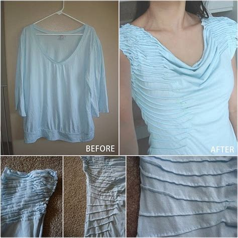 Diy Blouse Top Shirt Silk Pintuck Blouse Stylish Laundry Hers