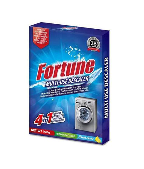 Fortune Set fortune set of 3 limescale descaler for washing machines