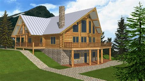 log cabin home plans with basement log cabin mansions