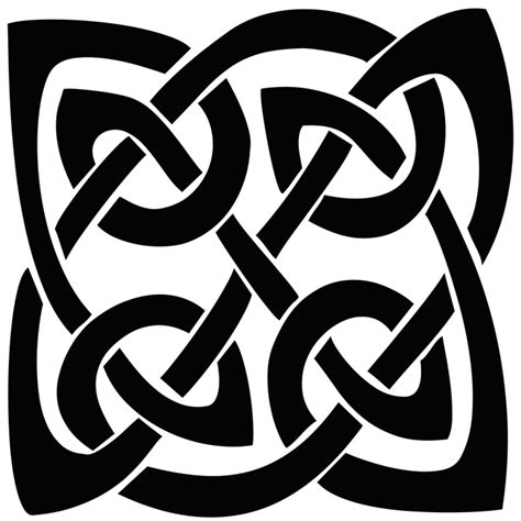 free illustration celtic knot silhouette shape free