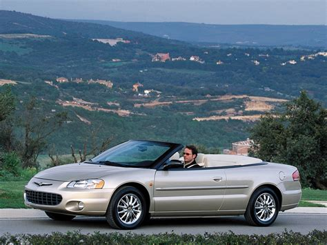chrysler sebring convertible specs