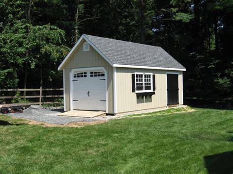 Single Detached Garage by Kloter Farms Detached Shed Garage Nesting