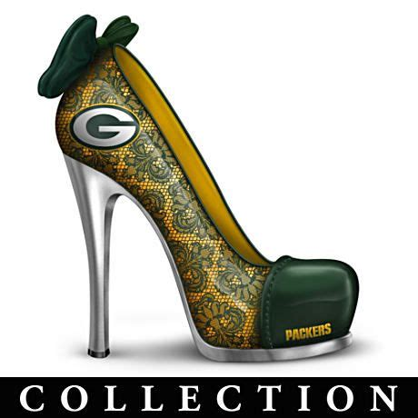 green bay packers high heel shoes pin by bonnie v on go pack go