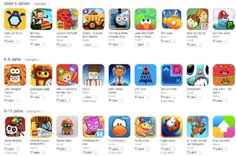 spiele fuer kinder app store mit neuer kategorie macerkopf