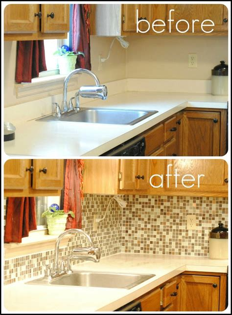 peel and stick backsplash for kitchen remove laminate counter backsplash and replace with tile