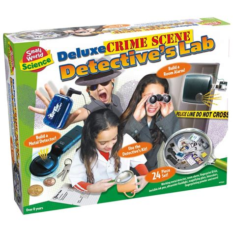 Arts And Crafts Books For Kids - kids deluxe crime scene detective lab educational toys planet