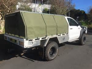 Canvas Canopy Hilux by Hard Top Canvas Ute Canopies Amp Covers Wallaby Track Canvas