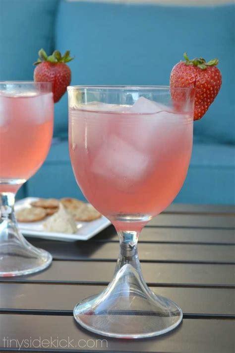 strawberry paradise cocktail recipes vodka drink recipes