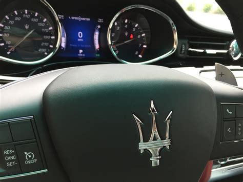 maserati steering wheel driving review 2015 maserati quattroporte ny daily news