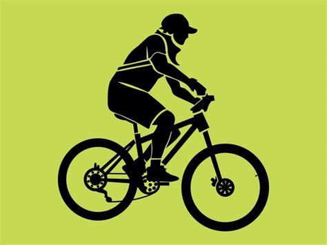 Motorradtouren Zum Runterladen by Gr 252 Nen Planeten Biker Vektor Pack Der