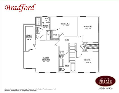 bradford floor plan the bradford custom home plans in solebury and plumstead pa