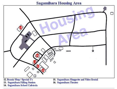 area housing sagamihara housing area japan
