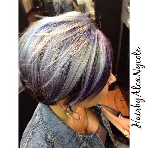 pravana silver blue shadow root and pravana silver all things hair