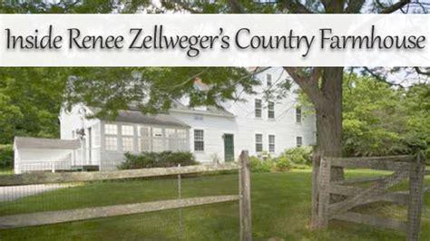 Home Decor Outside renee zellweger in her connecticut farmhouse