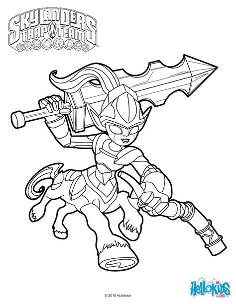 krypt king coloring pages skylanders trap team trap masters coloring pages