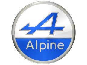 Renault Alpine Logo Alpine Car Logo