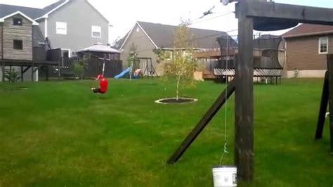 building a zipline in your backyard building a zipline in your backyard outdoor goods gogo papa